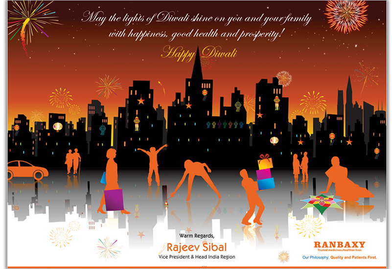 Ranbaxy Happy Diwali Campaign