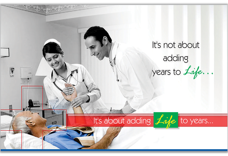 Adding Years to Life Ad Concept